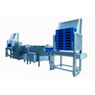 Palletwas machine